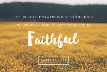 April 15th – Hebrews 10:23