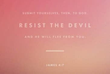 April 16th – James 4:7