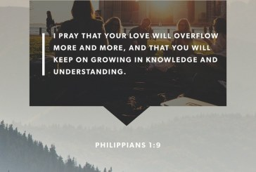 April 18th – Philippians 1:9